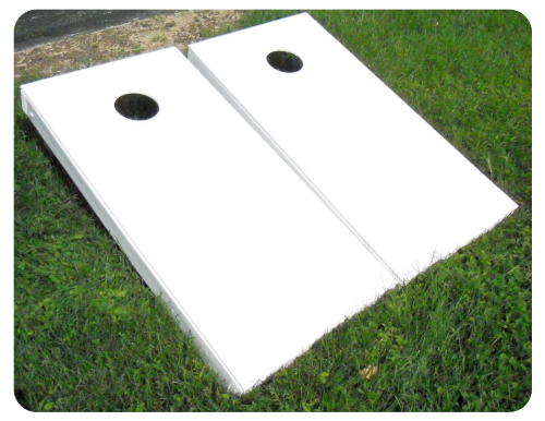 Image result for blank cornhole boards